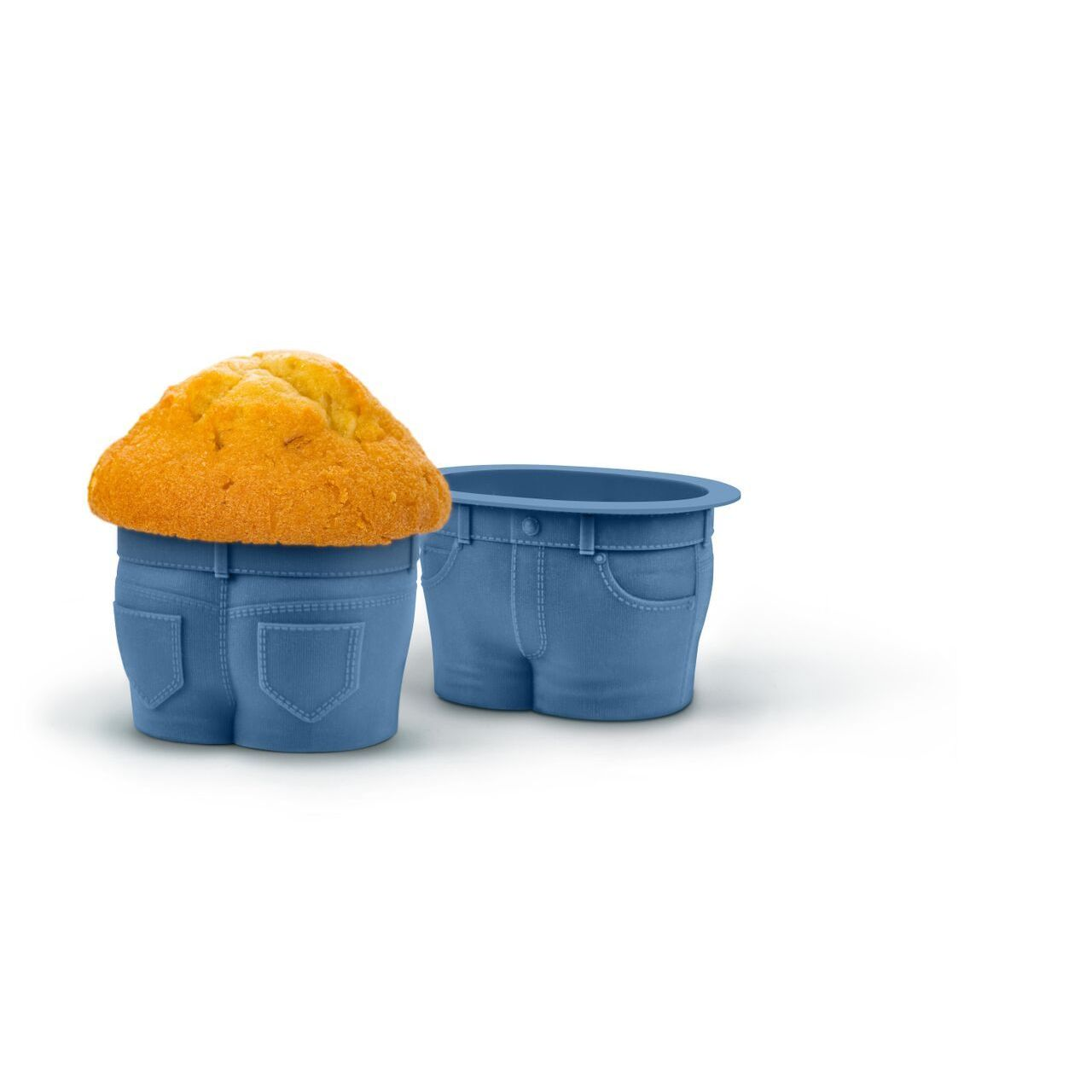 Fred and Friends Muffin Tops Baking Cups (Blue), Size 1 Q...