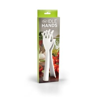 Fred and Friends Idle Hands Salad Tongs