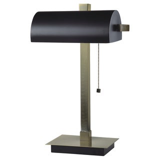 Journee Home 'Railway' 22 inch Metal Desk Lamp