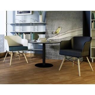 Briella Modern White Chair (Set of 2)