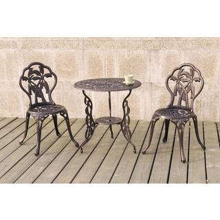 Copper Grove Amistad Palm 3-piece Bistro Set