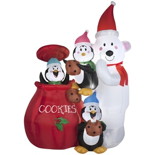 Animated Cookie Jar and Friends Indoor/ Outdoor Inflatable
