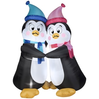 Animated Shivering Penguins Indoor/ Outdoor Inflatable