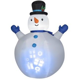 Panoramic Projection Snowman Indoor/ Outdoor Inflatable