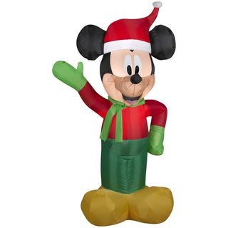 Holiday Mickey in Winter Outfit Indoor/ Outdoor Inflatable