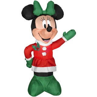 Minnie in Winter Outfit Indoor/ Outdoor Inflatable