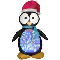 Projection Kaleidoscope Penguin Indoor/ Outdoor Inflatable
