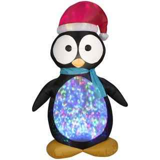 Projection Kaleidoscope Penguin Indoor/ Outdoor Inflatable