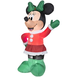 Holiday Minnie Indoor/ Outdoor Inflatable