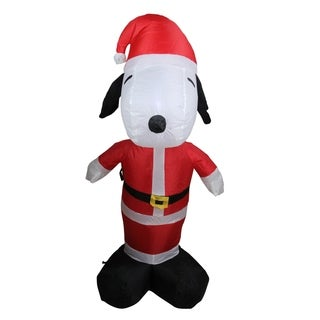 Santa Snoopy Indoor/ Outdoor Inflatable