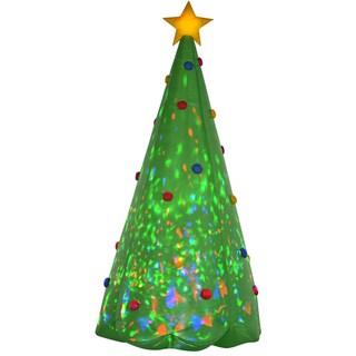 Projection Kaleidoscope Christmas Tree Indoor/ Outdoor Inflatable