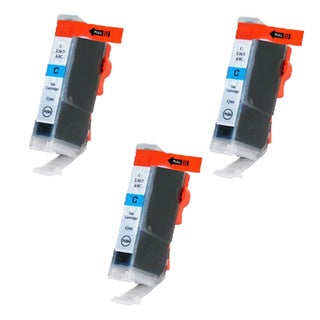 Canon CAN-TY3/3e/5/6C Cyan Compatible Inkjet Cartridge for Canon S400 S450 (Pack of 3)