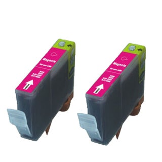 Canon CAN-TY3/3e/5/6M Magenta Compatible Inkjet Cartridge for Canon S400 S450 (Pack of 2)