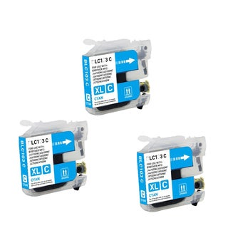 Brother LC103 C XL Compatible Inkjet Cartridge for MFCAN-J4410DW MFCAN-J4510DW (Pack of 3)
