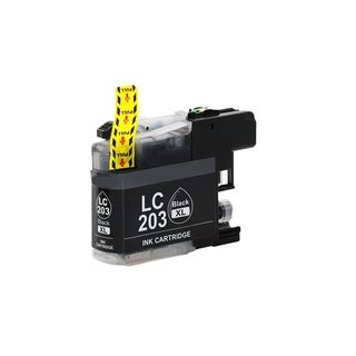 Brother LC203 BK XL Compatible Inkjet Cartridge for MFC-J4625DW MFC-J5320DW MFC-J5620DW MFC-J5625DW MFC-J5720DW (Pack of 1)