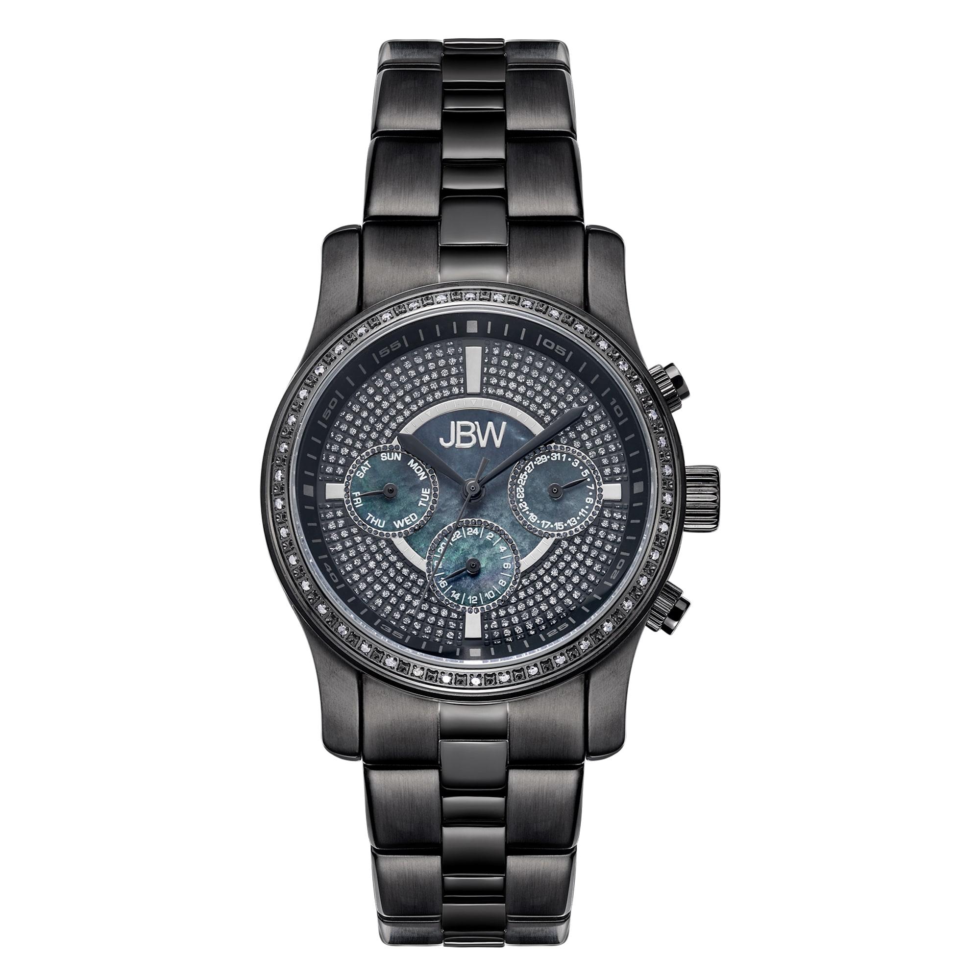 JB Weld Vixen Women's J6327E Swiss Chronograph Diamond Wa...