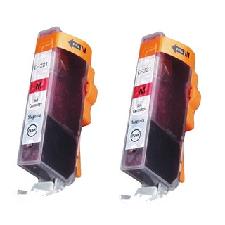 Canon CAN-221M Magenta Compatible Inkjet Cartridge for Canon S400 S450 (Pack of 2)