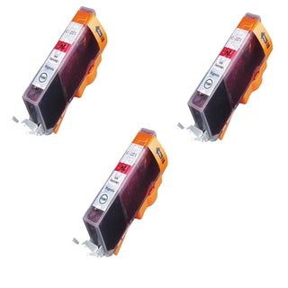 Canon CAN-221M Magenta Compatible Inkjet Cartridge for Canon S400 S450 (Pack of 3)