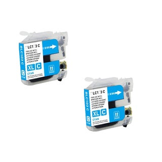 Brother LC103 C XL Compatible Inkjet Cartridge for MFCAN-J4410DW MFCAN-J4510DW (Pack of 2)