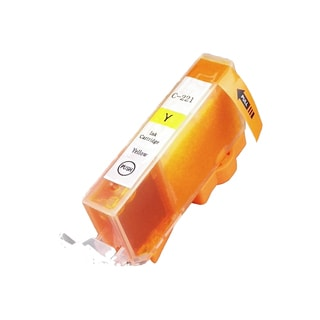 Canon CAN-211Y Yellow Compatible Inkjet Cartridge for Canon S400 S450 (Pack of 1)