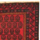 Herat Oriental Afghan Hand-knotted Tribal Balouchi Wool Rug (2'7 x 4'5) - Thumbnail 2