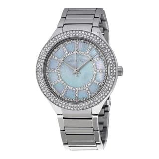 Michael Kors Women's MK3395 'Kerry' Crystal Stainless Steel Watch
