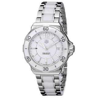 Tag Heuer Women's WAH1211.BA0861 'Formula One' Two-Tone Ceramic Watch