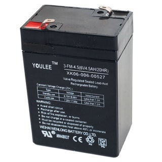 6V Rechargeable Battery for Lil' Rider Models KB901 and YJ119