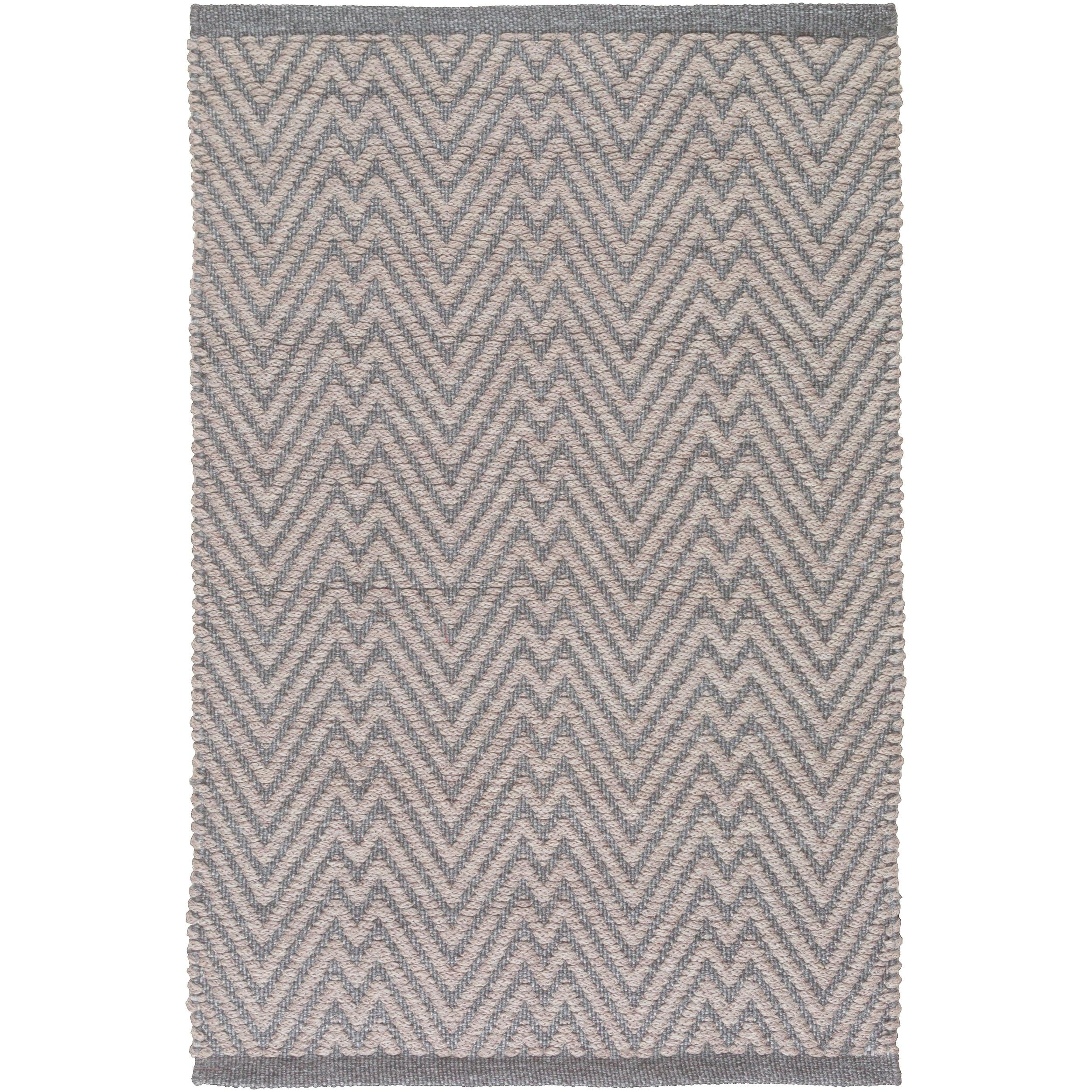 Hand-Woven Bromley Chevron Polypropylene Rug (8' x 10') (...