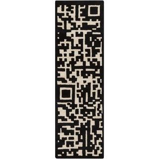 Hand-tufted Liv Abstarct New Zealand Wool Rug (2'6 x 8')