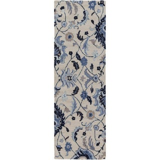 Hand-Tufted Cohen Contemporary Wool Rug (2'6 x 8')