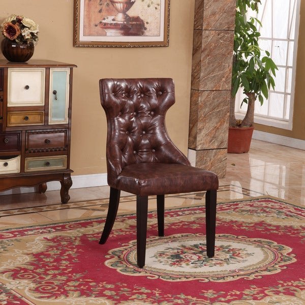 Signature Designs Traditional Parson Dining Chair (Set of 2)