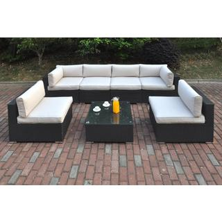 Bolinas Resort Dark Brown 7-piece Patio Set
