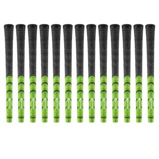 Karma Standard Black/ Green Half Cord 13-piece Golf Grip Bundle