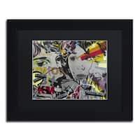 Dan Monteavaro 'That There Is' Black Matte, Black Framed Wall Art