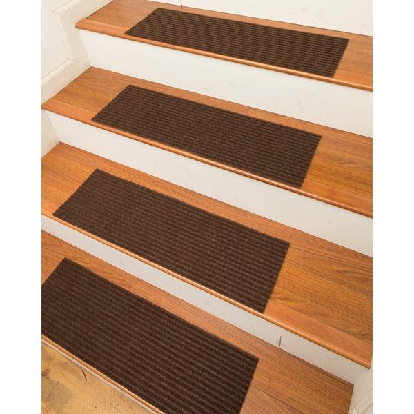 Halton Carpet Chocolate Stair Treads (Set Of 13) ...