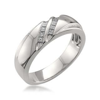 Platinum wedding rings for less overstock montebello platinum mens 14ct tdw diamond wedding band 3 options available junglespirit Image collections