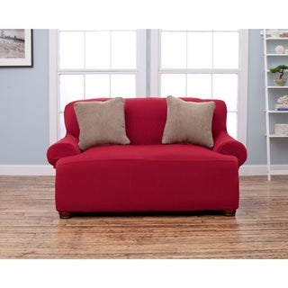 Home Fashion Designs Savannah Collection Form Fit Love Seat Protector Slip Cover