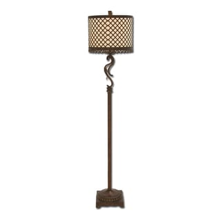 Venice Metal Lattice 3-way Floor Lamp