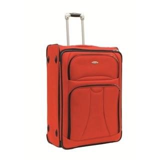 WestJet Navigator Orange 29-inch Expandable Lightweight Upright Suitcase