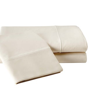 Vivendi 800 Thread Count Egyptian Cotton Sheet Set Ivory, White