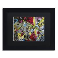 Dan Monteavaro 'This is Only' Black Matte, Black Framed Wall Art