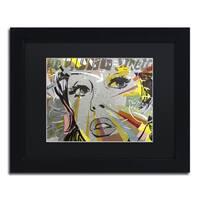 Dan Monteavaro 'The Long Stretch' Black Matte, Black Framed Wall Art