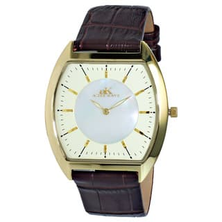 Adee Kaye Men's AK2200-MGG Slim Collection Goldtone Stainless Steel Watch|https://ak1.ostkcdn.com/images/products/10478084/P17567239.jpg?impolicy=medium