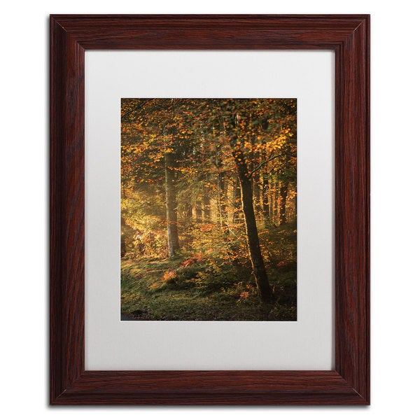 Philippe Sainte-Laudy 'Some Memories Never Fade' White Matte, Wood Framed Wall Art
