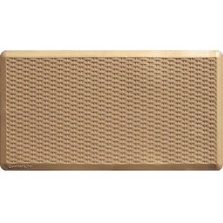 Anti-fatigue Chef Wheat Kitchen Mat (20x36)