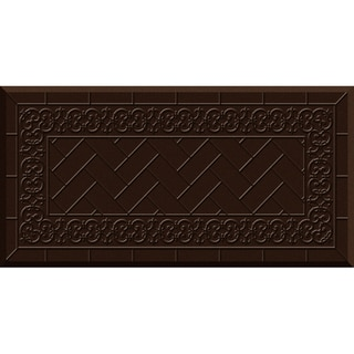 Comfort Mate Backsplash Chocolate Kitchen Mat (20x39)