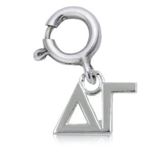 Delta Gamma Sterling Silver Charm