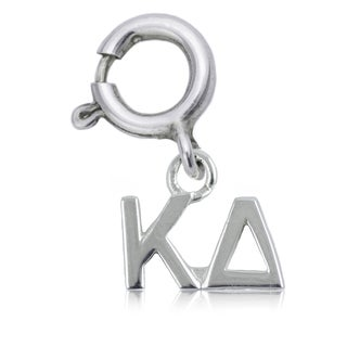 Kappa Delta Sterling Silver Charm