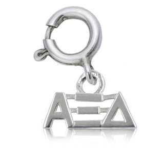 Alpha Xi Delta Sterling Silver Charm